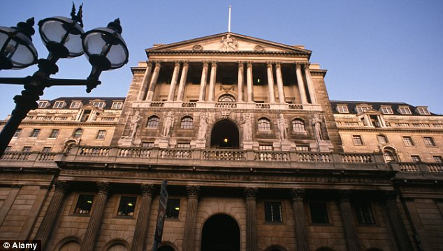 Interest rates: The Bank of England effectively ruled out a cut to the bank rate