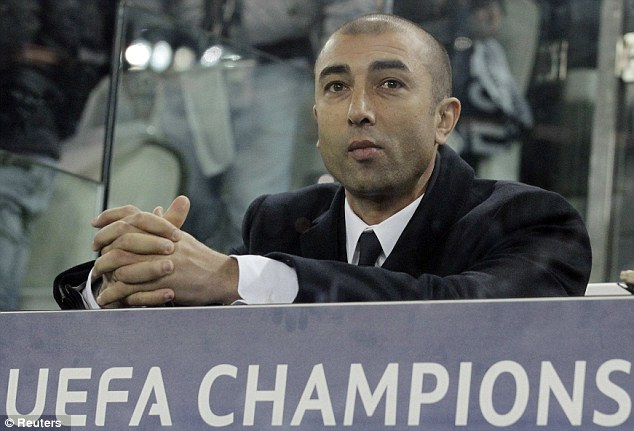 The writing's on the wall: After delivering club football's greatest prize six months ago, Roberto Di Matteo finds himself out of work