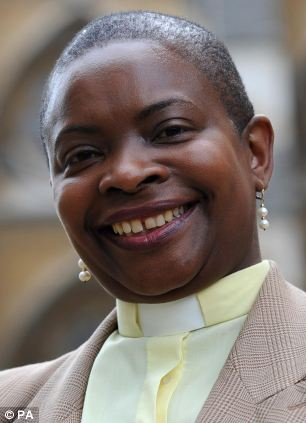Damage: Prominent London clergywoman the Reverend Rose Hudson-Wilkin said 'we have made ourselves an irrelevance'