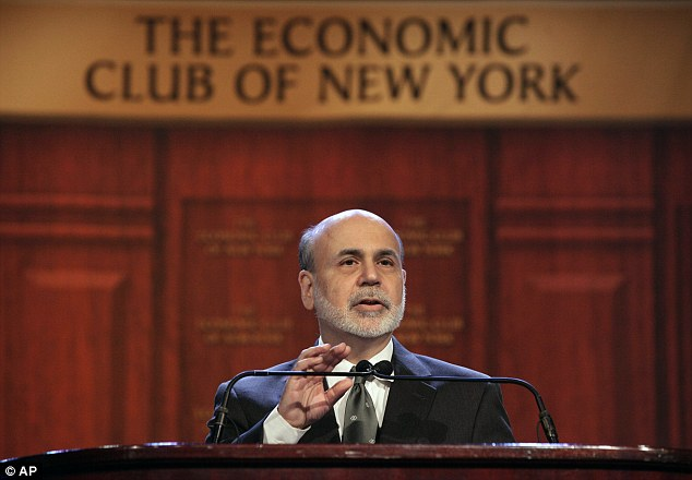 Ben Bernanke: 'The ability of the Fed to offset headwinds is not infinite'