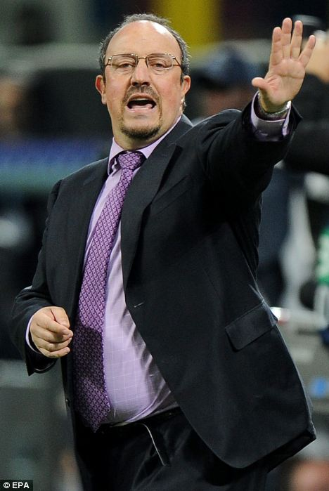 Rafa for the bridge? Former Liverpool and Inter Milan coach Benitez could take over in the short term