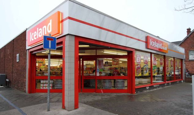 Security conscious: Supermarket chain Iceland has rolled out the security measures across hundreds of stores