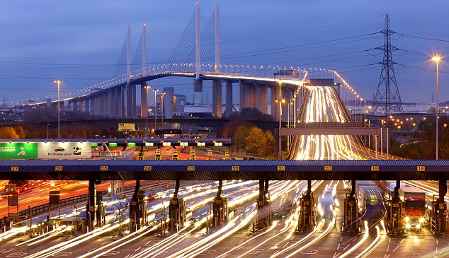 Dartford Crossing: Could strip away booths for a service motorists would pay for via their phone or the internet