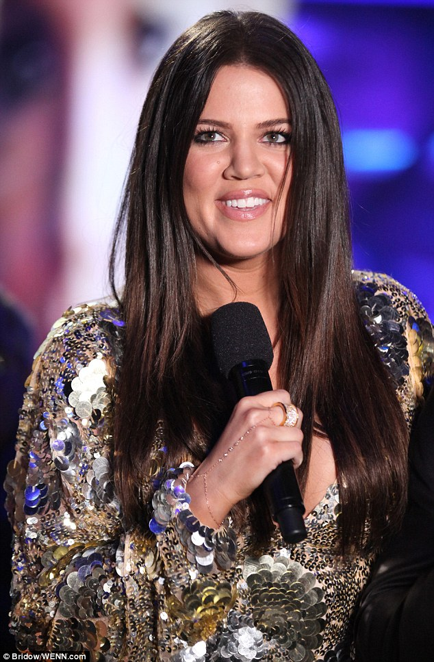 Scare: A letter containing a suspicious white powder and addressed to Khloe was intercepted at the CBS studios where The X Factor is filmed in Hollywood on Tuesday