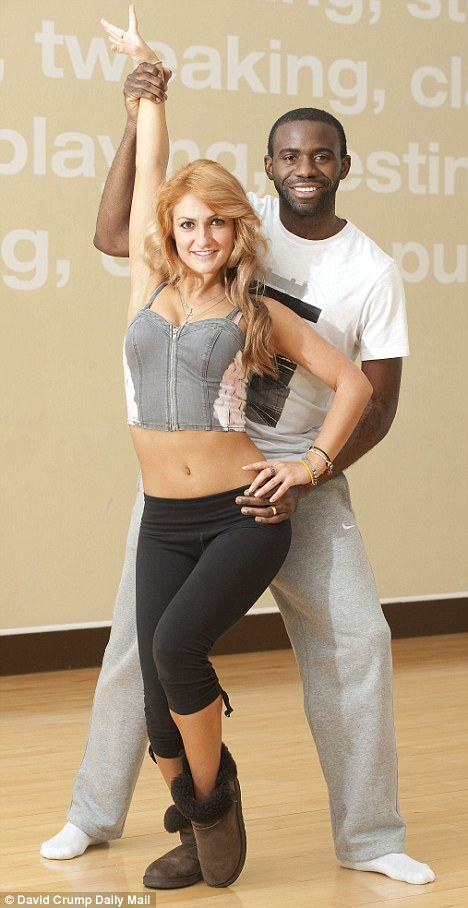 Fabrice Muamba says training for Strictly is the hardest thing he has done since recovering from his collpase