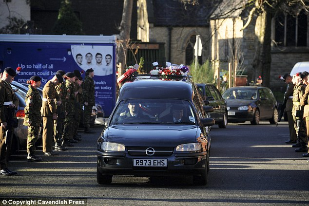Fellow servicemen said David treated the army like his extended family