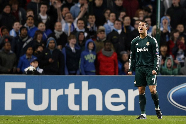 Ronaldo lets out another scream