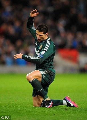 Ronaldo picks himself up