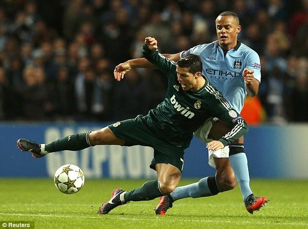 Ronaldo takes another tumble