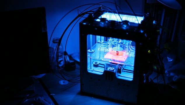 3D printers: Falling technology costs could herald an industrial revolution which could start in earnest in 2013
