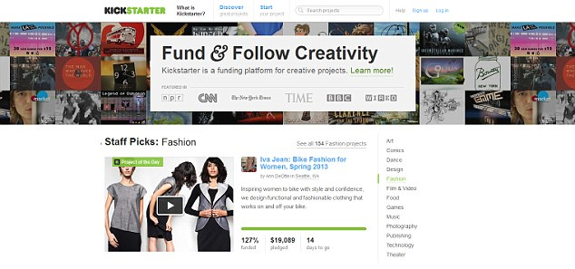 Crowdfunding: Since its launch in 2009, Kickstarter has hosted more than 70,000 projects - and about two fifths of these have been funded