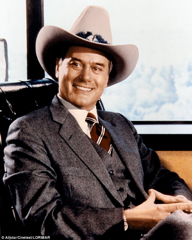Rest in peace: Hagman had spent the Thanksgiving holiday in Dallas with his nearest and dearest