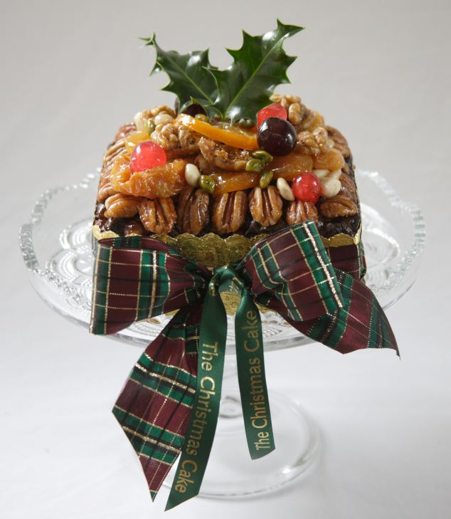 Top cake: The Christmas Cake lives up to its name as it is marinated in Brandy and then matured for months before being served up on the Christmas dinner table