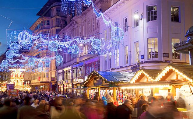 Festive day out: Get all the presents in time for Christmas at Birmingham's German market