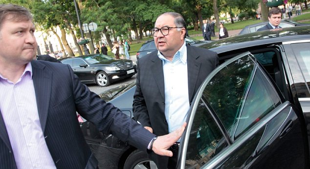 Moving in: Metals tycoon Alisher Usmanov is set for a £1.3billion London stock market flotation