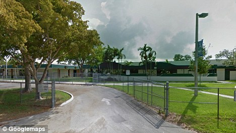 Too far: Grampa was a teacher at Cooper City Elementary School when during at least one incident in the 2009-2010 school year a boy touched her breasts and vaginal area according to investigators