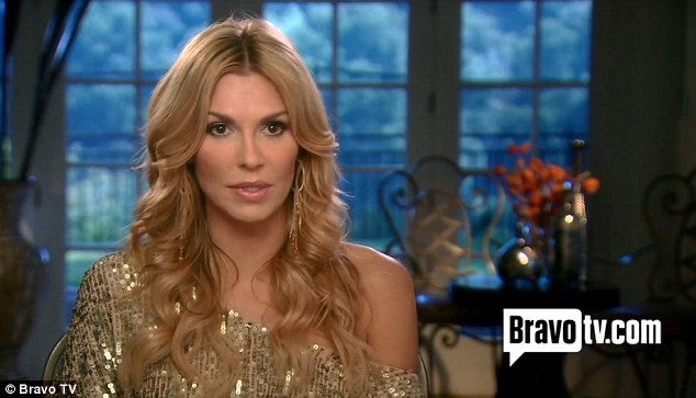Not happy: Brandi told viewers she disapproved of Adrienne's comments about Kim