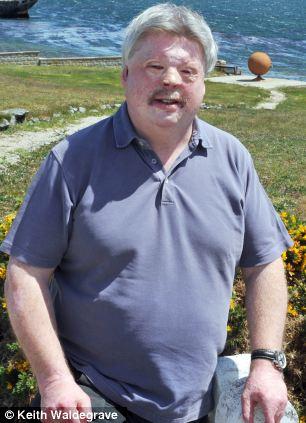Anger: Falklands War veteran Simon Weston