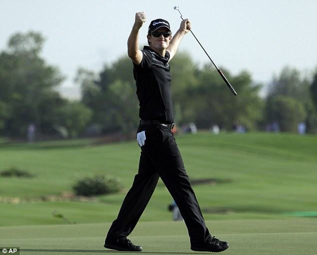 What a round: Justin Rose finished with a 62 to claim second place behind McIlroy