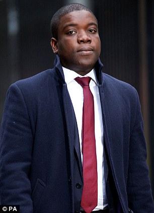 Guilty: Kweku Adoboli was convicted of one count of fraud