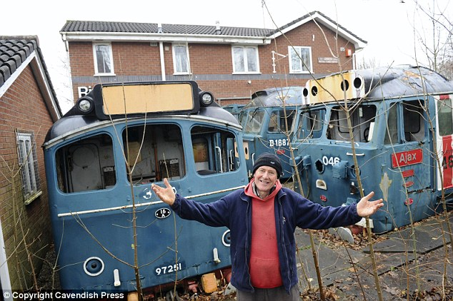 Mel Thorley is trying to sell his house, which is also known as Riverside Station, but is having no luck