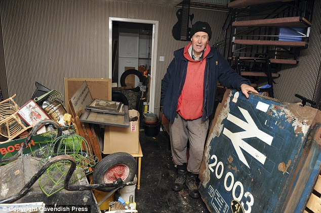 Mel, who is a retired train driver, is hoping a railway enthusiast will buy his house
