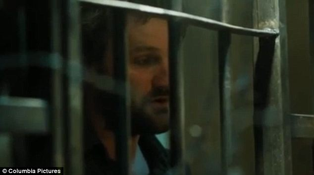 Chilling: In the film American agents (like the one portrayed by this actor in the film's trailer) are shown torturing suspects by blasting metal music, depriving them water and sleep, and waterboarding them