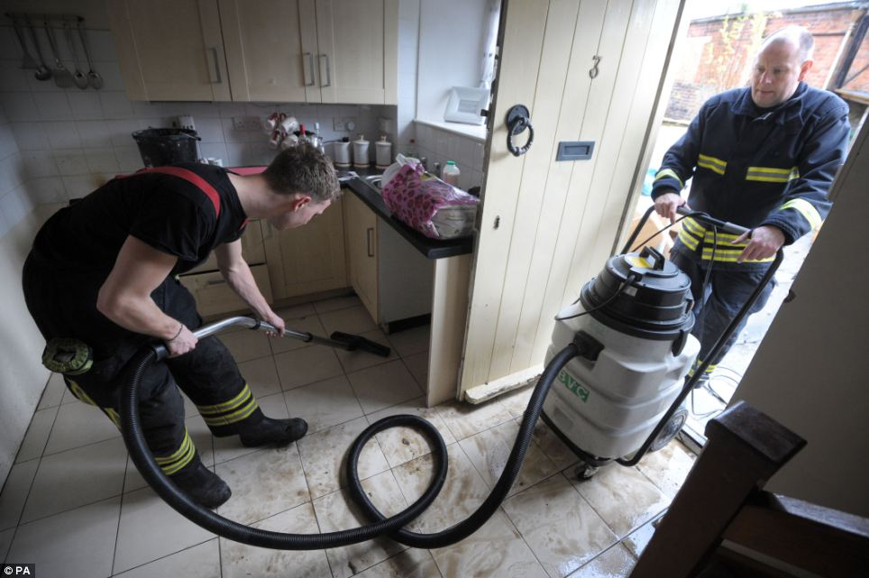 The clean-up operation is well and truly under way in Malmesbury but there are fears other houses and businesses in other parts of the country could soon follow the same fate
