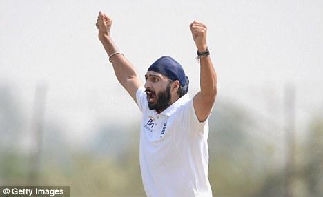 Main man: Panesar bowled very well in both innings