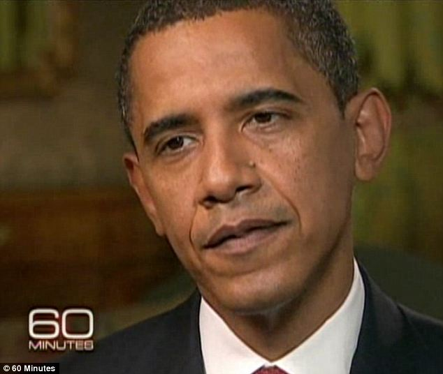Possibility: In Zero Dark Thirty, a news clip from 2008 shows then-President-elect Obama talking about his stance against torture. He said so repeatedly, including during the pictured interview with 60 Minutes