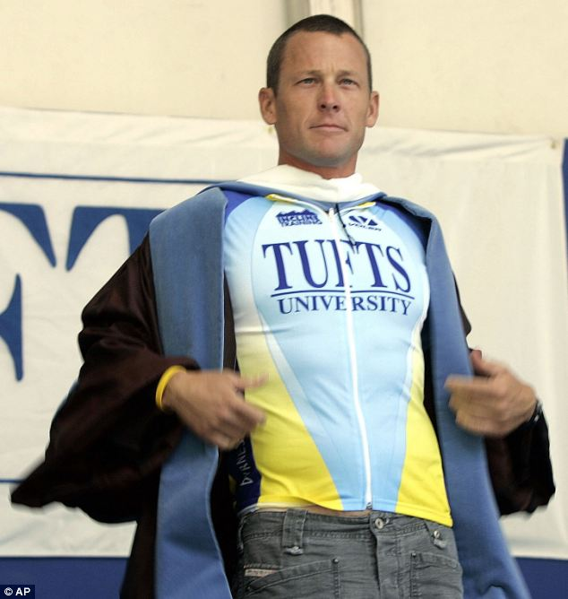 Tufts University, Mass. last week rescinded Armstrong's honorary degree which it had bestowed in 2006
