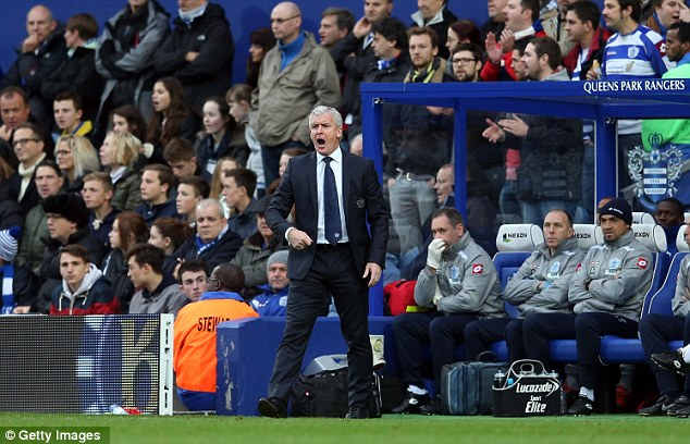Axed: Mark Hughes was booted out of Loftus Road