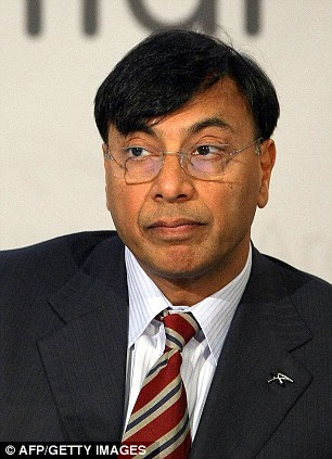 Lakshmi Mittal, chairman of ArcelorMittal, the world's largest steel producer