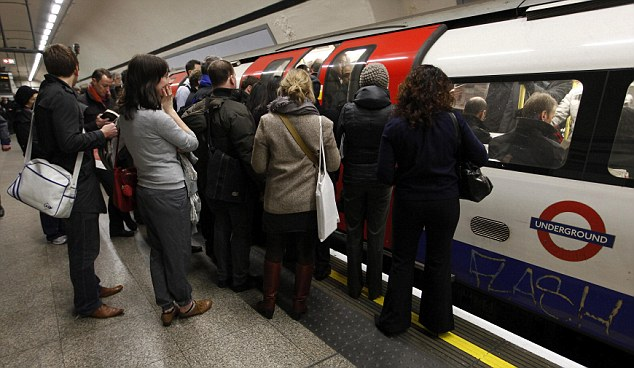 Squash: Londoners are well versed in the tube delays - but do they know that if their journey is delayed by more than 15 minutes they can get a refund?