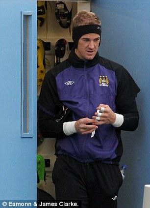 Heady times in Manchester: Joe Hart