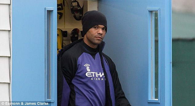 Ambitions: Joleon Lescott wants to get back into the team