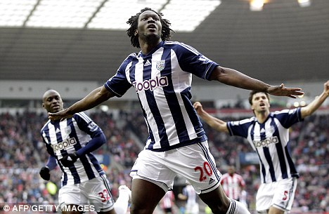 Flying start: West Brom have won four on the bounce