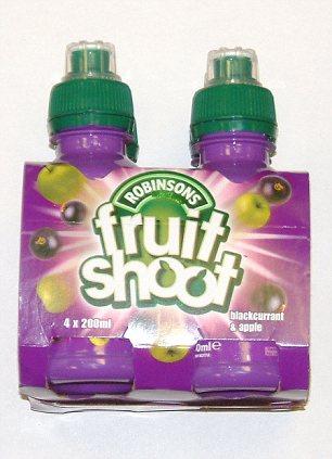 Fruit Shoot soft drinks