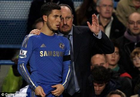 Turning the tides: Benitez hopes to improve the Blues' form
