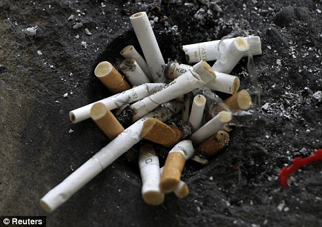 Admittance: A federal judge has ruled that tobacco companies must take out advertisements admitting having deliberately lied to the American public about the dangers of smoking