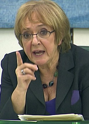 Woefully short of expectation: Chairman of the Commons public accounts committee, Margaret Hodge criticised the scheme