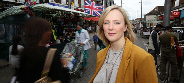 Listen up: Labour MP for Walthamstow Stella Creasy has been campaigning for stricter rules for payday lenders since 2010