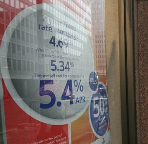 Interest rates: Bank customers can get offered worse rates for loans if they have missed repayments in the last year.