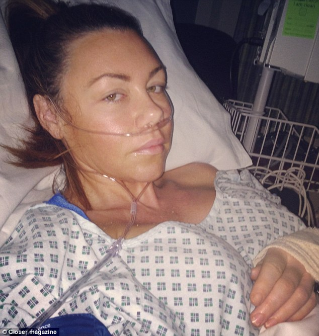 Scared: Former Liberty X singer Michelle Heaton has recently revealed her experience having a double mastectomy after also being told she has the BRCA2 gene