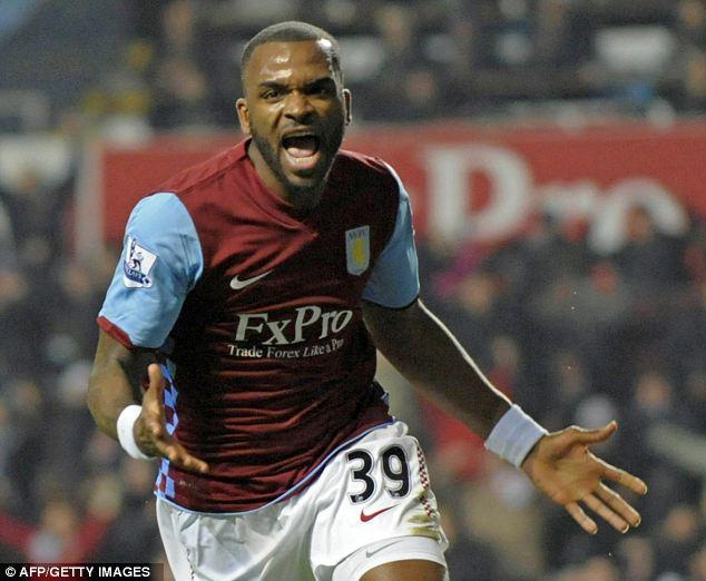 Hot shot: £24m Bent has scored 22 goals in 47 appearances