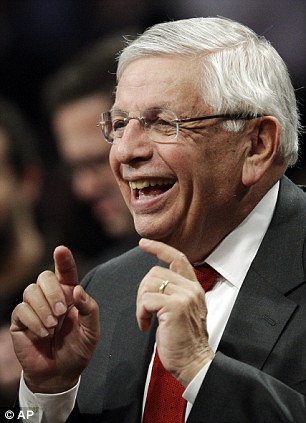 'Must do better': NBA Commissioner David Stern spoke exclusively to Sportsmail