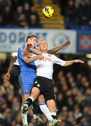 Spoiler: Steve Sidwell (right) was a menace