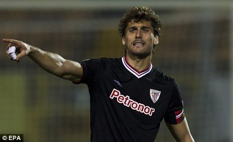 Dispute: Fernando Llorente is rowing with Athletic Bilbao
