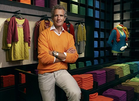 Knitting the future together: The Benetton boss is looking towards non-European markets as part of a turnaround plan