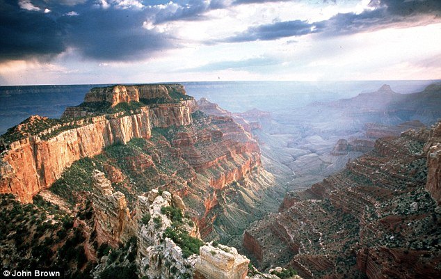 Spectacular: The canyon is perhaps the most recognisable natural phenomena on the Earth